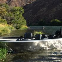 Deschutes Steelhead, Jet Boat