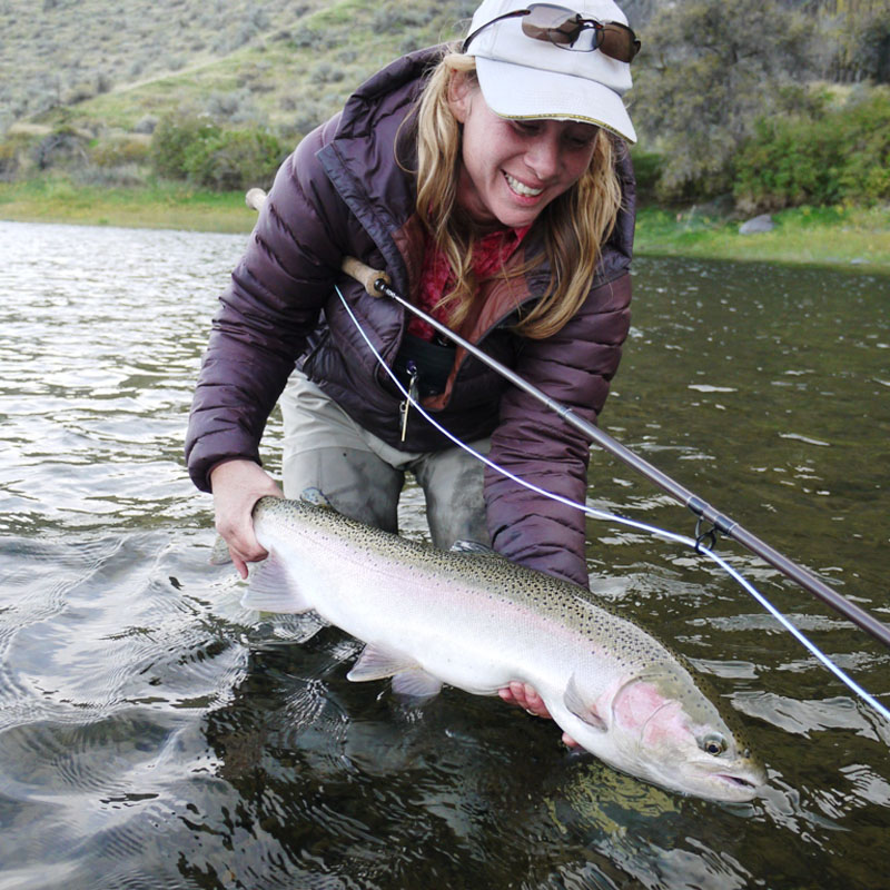 john day river steelhead fly fishing lodges and trips