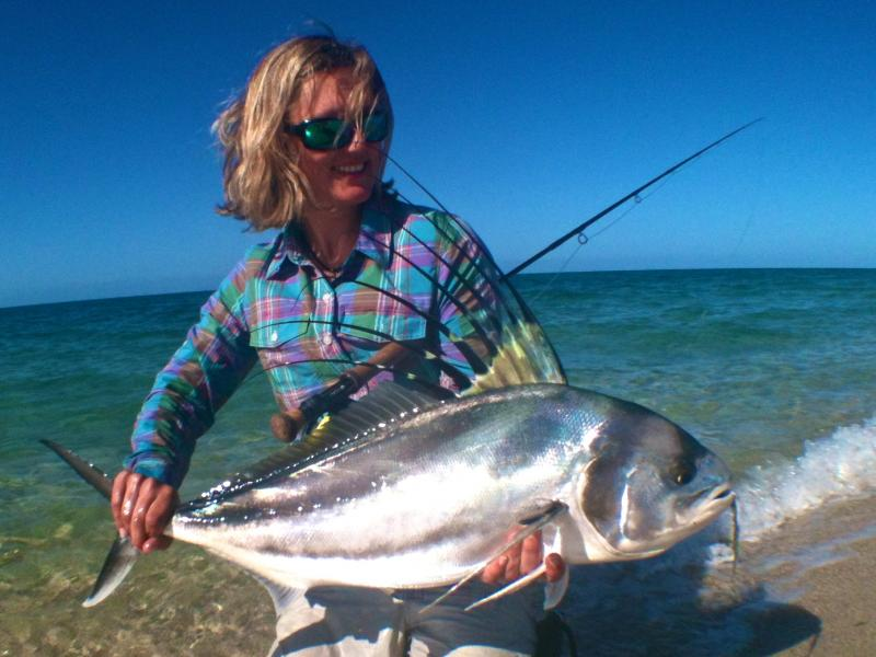 Baja roosterfish fly fishing lodges and trips for Rooster fish cabo
